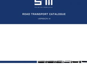 NEW Version 4 Road Transport Catalogue