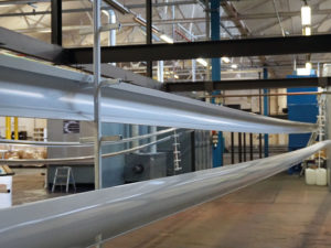 Introducing our new fully Automated pre-treatment and powder coating line