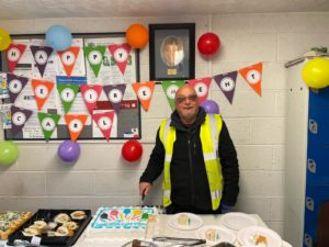 Wishing Carl All The Best On His Retirement Today